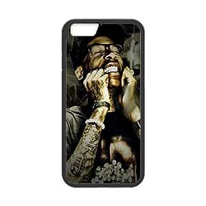 Rapper Wiz Khalifa iPhone 6 Plus 5.5 Inch Cell Phone Case Black Delicate gift JIS_321884