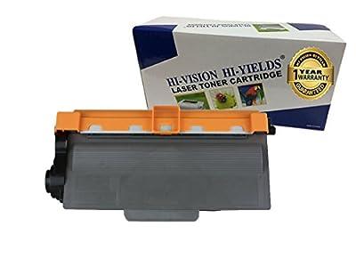 HI-VISION® Compatible TN720 Toner Cartridge for Brother DCP-8155DN,8150DN,8110DN,HL-5440D,5450DN,5470DW,5470DWT,6180DW,6180DWT,MFC-8510DN,8710DW,8810DW,8910DW,8950DW,8950DWT printer TN-720 1 Pack