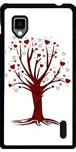 Funda para LG Optimus G (E975) - Del árbol Del Corazón by Adamzworld