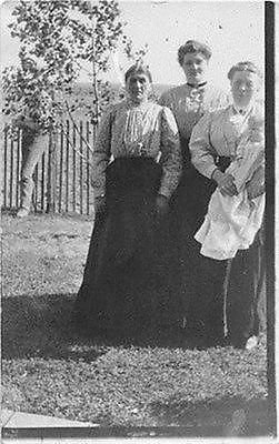 Early 1900s Photo (Lot of 3 Women with Baby Real Photo Postcards, Early 1900s)