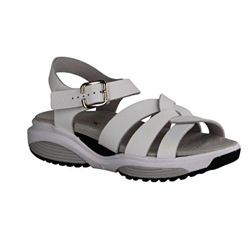 XSENSIBLE Women's Fashion Sandals white Weiß 63NhHKN