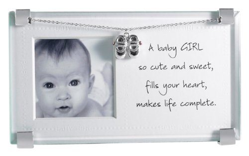 Mud Pie Picture Frame, Baby Girl (Baby Girl Frame)