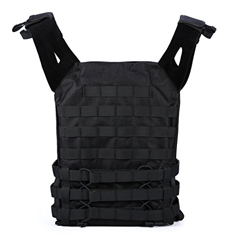 Tactical MOLLE Field 900D Nylon Soft Vest for Hunting,Airsoft,Paintball Game,BB,CS Game,Load Bearing,Combat Training,Cosplay,Army Fan