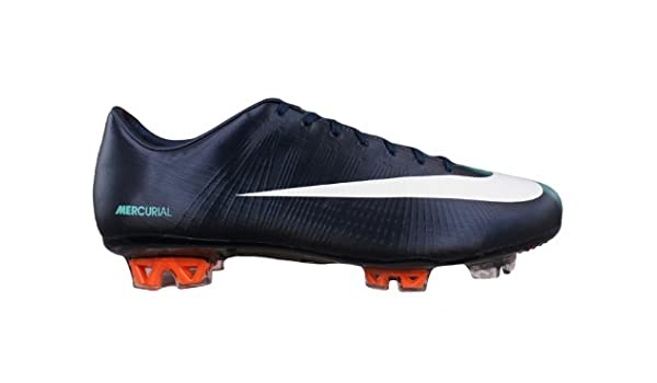 f949a7f0f990 Nike Mercurial Vapor Superfly II FG Mens soccer Boots   Cleats - Dark Blue  - SIZE US 8.5  Amazon.ca  Shoes   Handbags