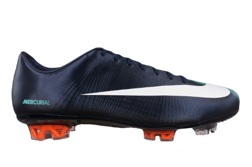 free shipping a3176 c9985 Nike Mercurial Vapor Superfly II FG Mens soccer Boots/Cleats - Dark Blue -  SIZE US 7