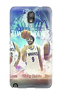 Gaudy Martinezs's Shop minnesota timberwolves nba basketball (4) NBA Sports & Colleges colorful Note 3 cases