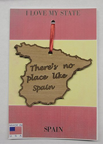 There's No Place Like Spain Ornament by I Love My State