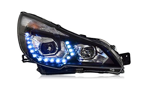 GOWE Car Styling For Subaru Outback 2010-2014 for Outback head lamp LED DRL Lens Double Beam D2H HID Xenon bi xenon lens Color Temperature:8000K Wattage:35W 0