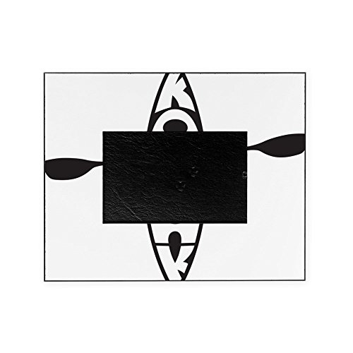 CafePress - Kayak Blk - Decorative 8x10 Picture Frame by CafePress