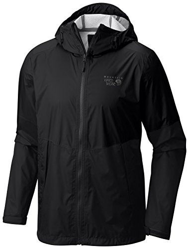 UPC 887487868398, Mountain Hardwear Exponent Jacket - Men's Black, XXL