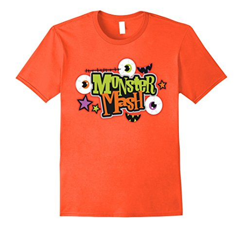 Mens Halloween Costume Shirt Monster Mash Cute Halloween XL (Homemade Ghost Costumes For Halloween)