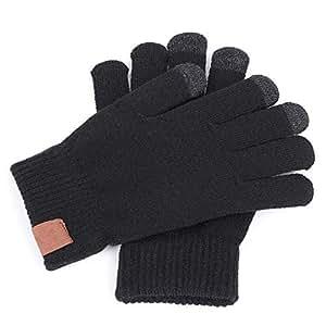 Amazon.com: Unisex Plus Velvet Thicken Full Finger Gloves