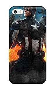 Ultra Slim Fit Hard ZippyDoritEduard Case Cover Specially Made For Iphone 5/5s- The Avengers 65
