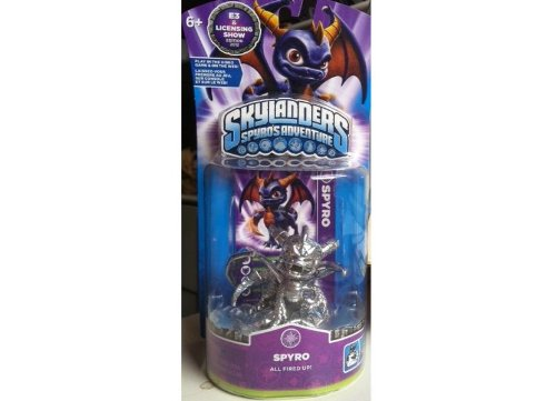 Skylanders Spyro's Adventure: Limited edition - E3 2012 Exclusive - Chrome Silver Spyro by Activision Inc.
