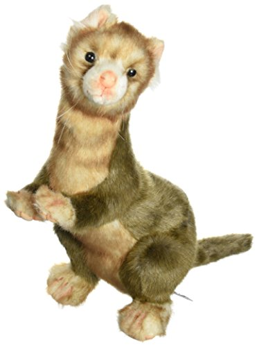 Hansa Ferret Plush, Brown (Ferret Plush)