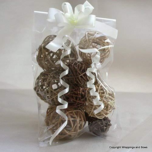 wrappings y lazos tamaño grande con celofán bolsas de regalo ...