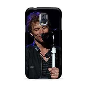 CharlesPoirier Samsung Galaxy S5 Anti-Scratch Hard Phone Covers Custom Fashion Bon Jovi Series [Sbk14219ntEQ]