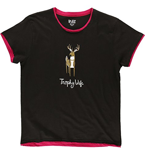 Trophy Wife Deer Pajama Tee by Lazy One