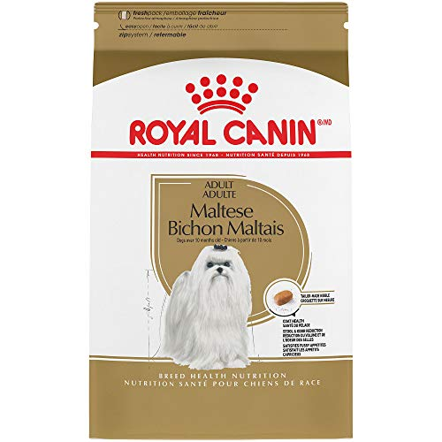 (Royal Canin Breed Health Nutrition Maltese Adult Dry Dog Food, 2.5-Pound)