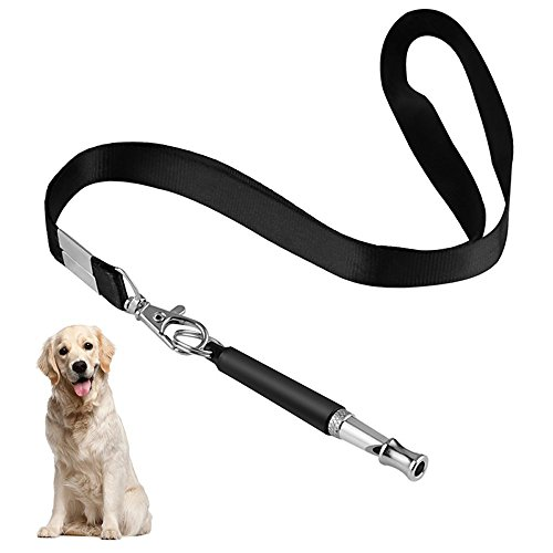 Edworder Dog Whistles, Professional Ultrasonic Dog Training Whistle to Stop Barking, Adjustable Pitch Dog Whistle with Free Lanyard Strap for Dog Training Aide Fetch, Sit, Stand, Come