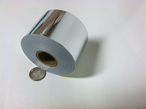 (Roll of Chrome Tape, Automotive Grade, 3 inch x 25 Feet)