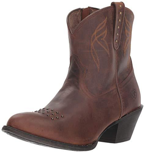(Ariat Women's DAKOTA Boot, sassy brown, 9 B US)