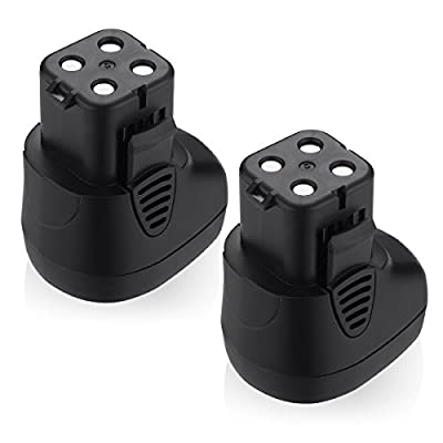 Upgraded Powerextra 2 Pack 7.2 Volt 2000mah Battery for Dremel MultiPro Cordless Rotary Tool Models Dremel 7700-01 and Dremel 7700-02 Replacement Dremel 757-01 Dremel 7.2 volt Battery