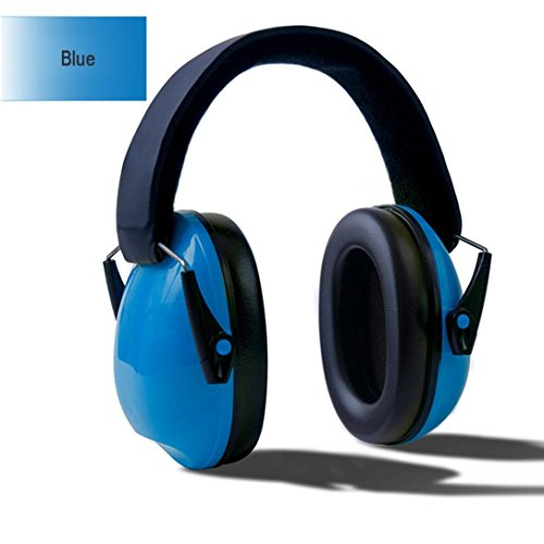 Mchoice Baby Kids Anti Noise Earmuffs Headset Hearing Protection Ear Defenders (Blue) (Boys For Toddler Earmuffs)