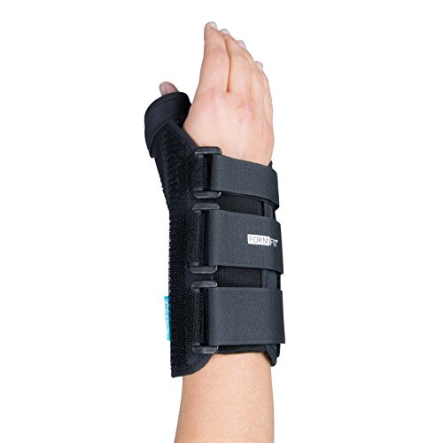Form Fit 20 cm X-Small Right Wrist Support with Thumb Spica by (Form Fit Design)