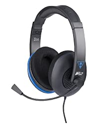 Turtle Beach - Ear Force P12 Amplified Stereo Gaming Headset - Ps4, Ps Vita, & Mobile Devices