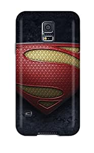 New Premium ZippyDoritEduard Man Of Steel Logo Movie People Movie Skin Case Cover Excellent Fitted For Galaxy S5