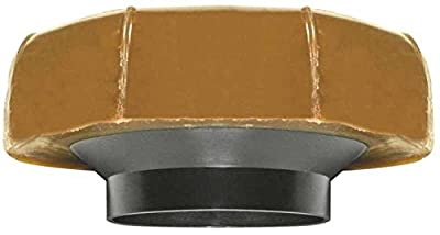 Fluidmaster 7513 No. 10 Extra Thick Toilet Bowl Wax Ring Gasket with Plastic Flange Sleeve - Pack of 12