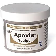 Apoxie Sculpt 1 lb. Bronze, 2 part modeling compound (A & B)
