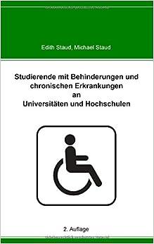 Book Studierende mit Behinderungen und chronischen Erkrankungen an Universitäten und Hochschulen
