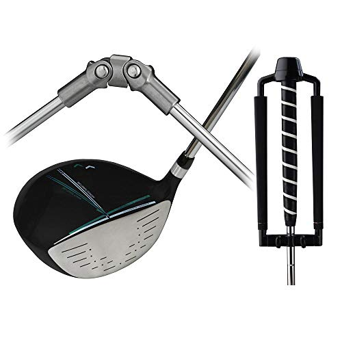 Medicus Dual Hinge DA Driver with Dual Hinge Putter - Swing Correcting Training Package - Medicus Driver