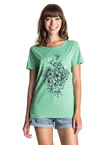 Roxy Basic Crew Bunch–Camiseta Verde - Creme de Menthe