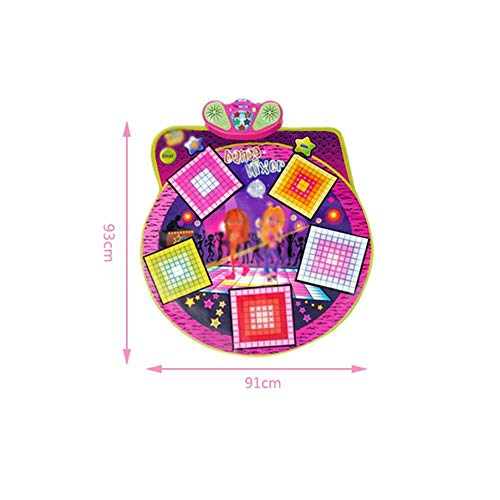 Children's Educational Parent-Child Game Music pad Dance pad Girls Baby Girl Toys Birthday gifts-93x91cm by AA-SS-Music Mat (Image #1)