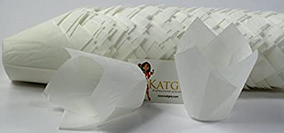 Katgely Tulip Baking Cup Liners - Pack of 200