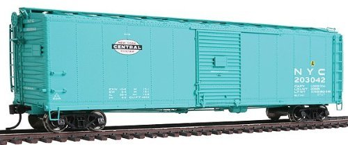 WalthersProto - 50' AAR Single-Door Boxcar - New York Central #203042 - Jade Green with Small System Logo on Left - Ready to Run - HO Scale
