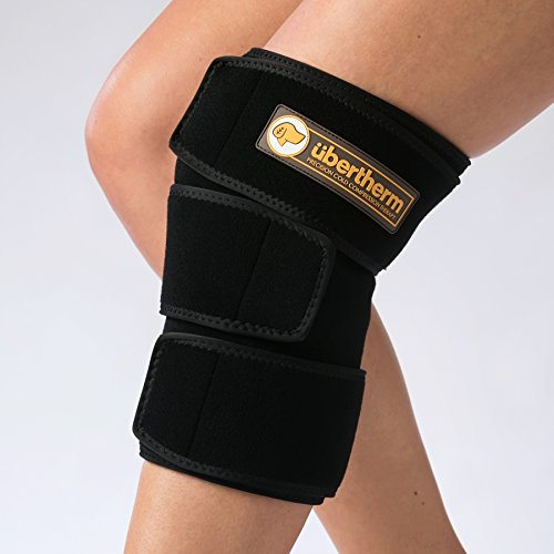 Knee Pain Relief Cold Wrap: 2-in-1 Compression Ice Pack A...