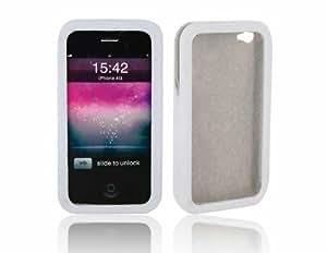 Patrón Tejido Straight Inserte la cubierta Style / caso de la piel para el iPhone 4G