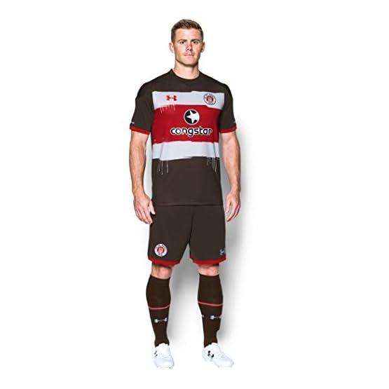 2017-2018 St Pauli Home Football Shirt