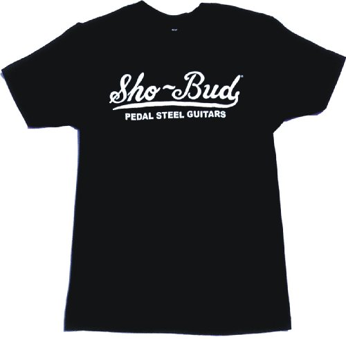 99 Volts Sho-Bud Pedal Steel Guitars Logo T Shirt (Guitar Logo Mens Tee)