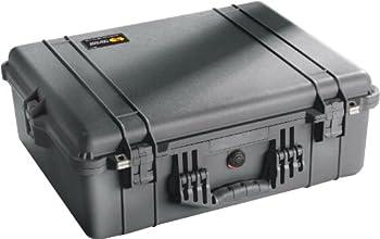 Pelican 1600 Case With Foam (Black) 1
