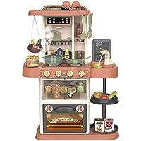 مجموعة العاب المطبخ العصري مع ضوء وموسيقى وماء، مزودة بـ 38 ملحق، 18-889-186