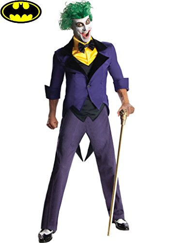 Adult Joker Costume - Anti Hero - Villain Size: Large