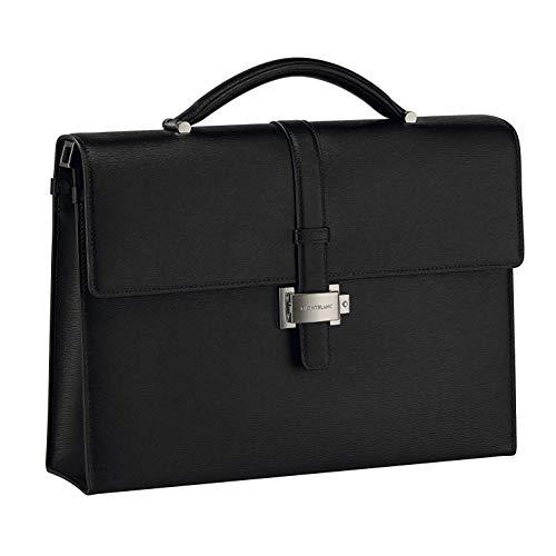 Briefcase Single Gusset 4810 Westside Black ()
