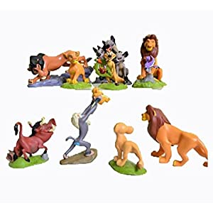 9 Pcs The Lions King Figures Toys Play Set Size 5-9cm