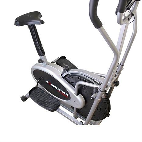 Eliptica y Bici 2 en 1 Confidence Fitness PRO: Amazon.es: Deportes ...