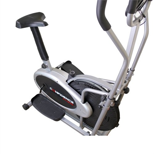 Confidence Pro 2 In 1 Cross Trainer Black Sports